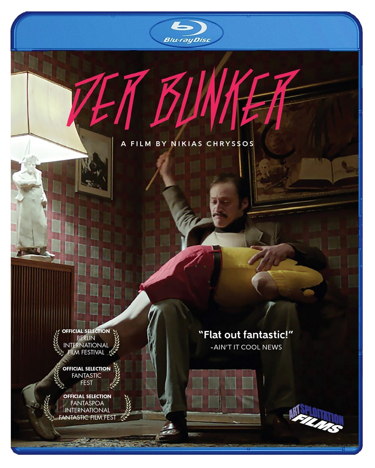 Der Bunker blu-ray cover
