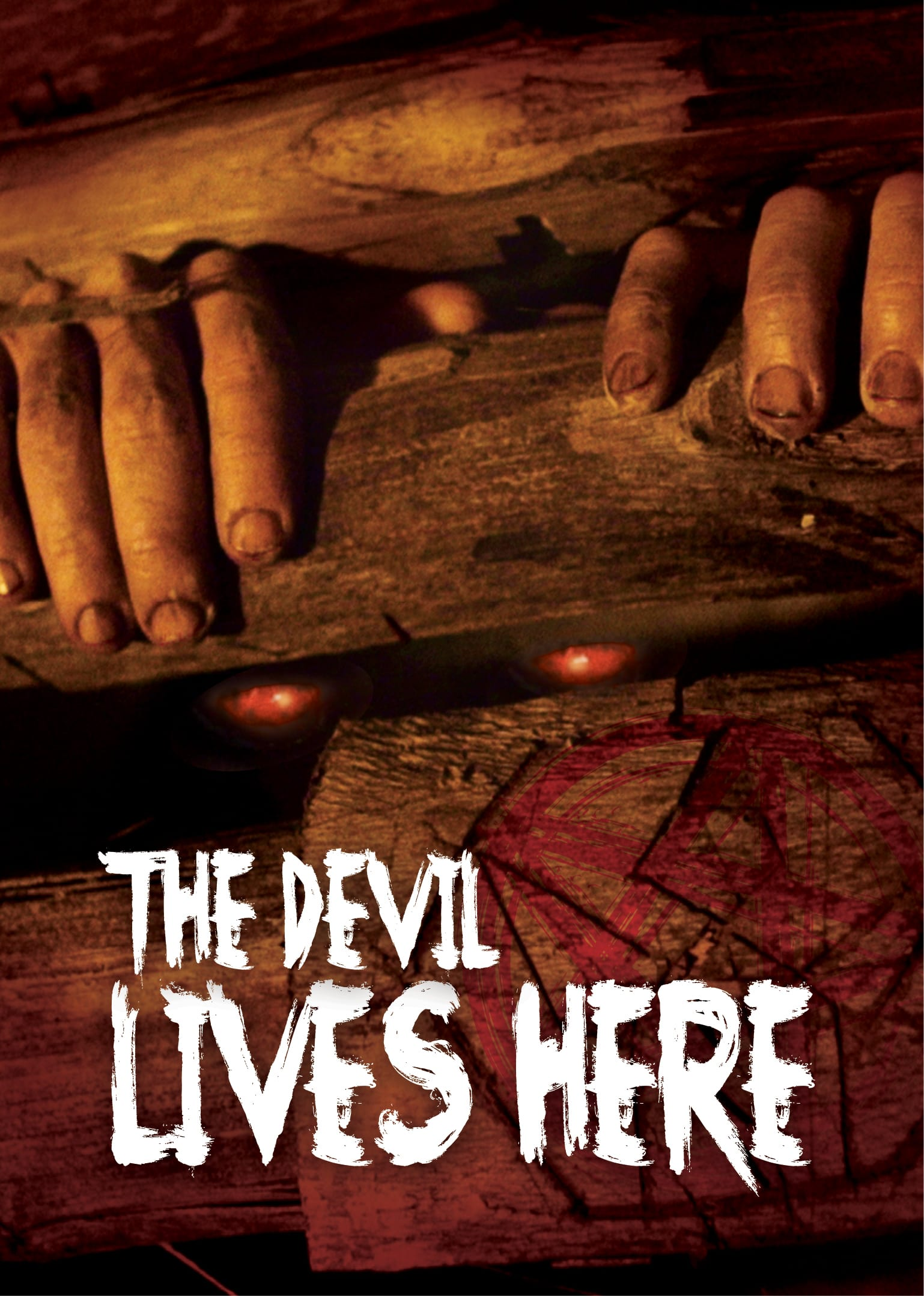 THE DEVIL LIVES HERE Cover