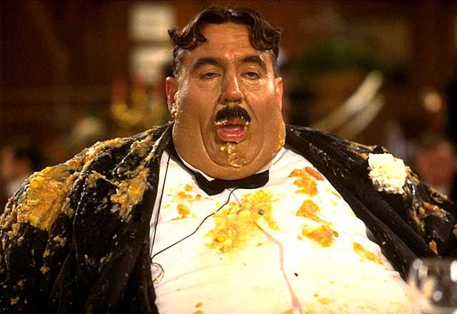 Better than Mr. Creosote in The Meaning of Life?