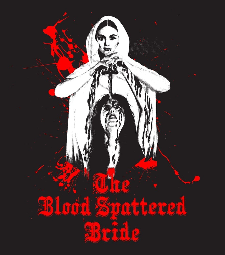 The Blood Splattered Bride - a classic in the Spanish lesbian vampire genre
